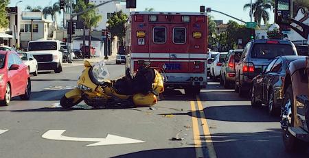 7/2 Philadelphia, PA – Motor Scooter Accident at Ridge Ave & Spring Garden St